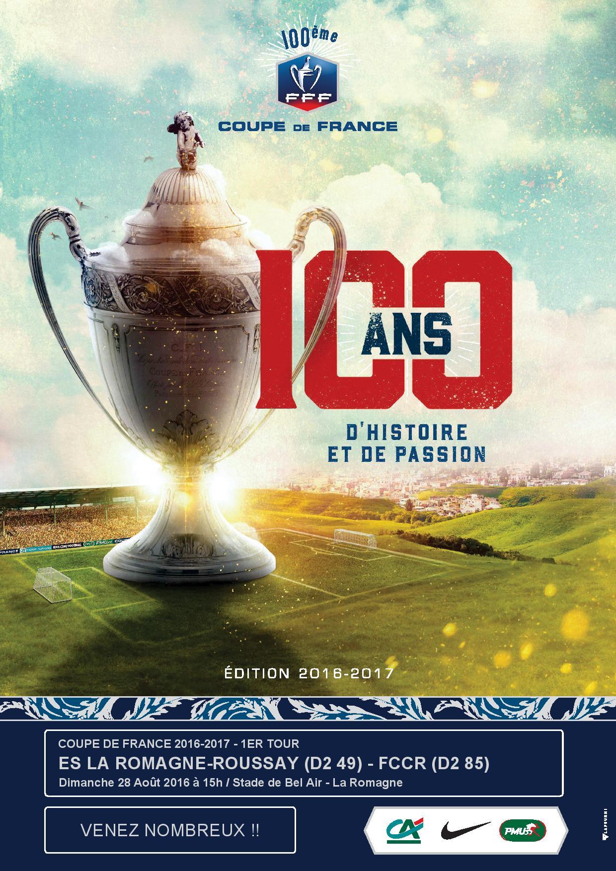 Coupe de france 2016 2017 fccr - Coupe de france 1er tour ...