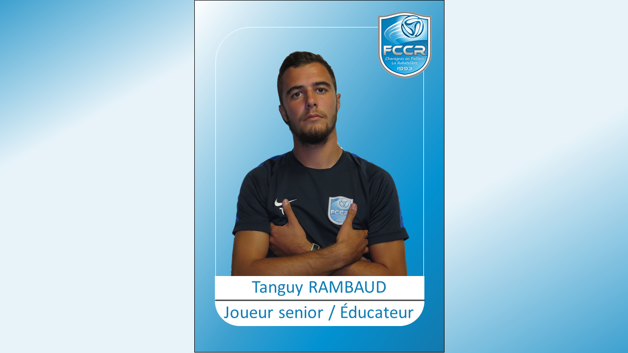 Face à face avec Tanguy Rambaud