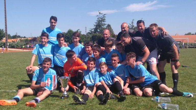 Les U15 vainqueur du Challenge de Vendée !