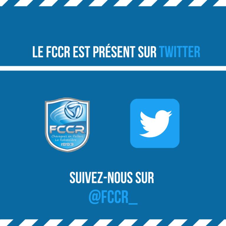 Le FCCR est sur Twitter
